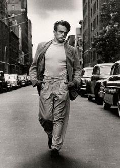 James Dean New York 1954
