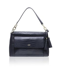 Traditional in appeal,The Paul Costelloe Cassandra brings back our fond memories of the vintage shoulder bag, that sits beautifully at the waist line. It's structured & ergonomic in design, just so you don't have to bear the burden!