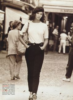 I found my love in Portofino - Vogue Italia (1992) Christy Turlington by Arthur Elgort