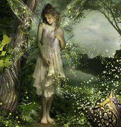 Elfler ve periler: efsaneler, fotoğraflar. Elfler ve periler büyülü arazi