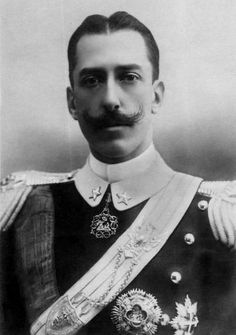 """His Royal Highness Prince Vittorio Emanuele of Savoy-Aosta, Count of Torino (1870-1946). Prince Vittorio was famous for having challenged Prince Henri of Orleans to a duel. Henri had called Italian prisoners of war """"cowards"""" in several newpapers. Vittorio was declared the winner after he inflicted a serious wound on his opponent. He returned to Italy triumphant and the King said, """"I want to be the first to congratulate you with all my heart on the example you set and the success you scored."""""""