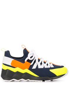 Pierre Hardy 'trek Comet' Patchwork Sneakers In Black Neoprene Rubber, Pierre Hardy, Strap Heels, Shoe Brands, Calf Leather, Trek, Calves, Women Wear, Product Launch