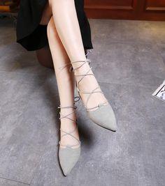 Compre moda sandalias 2017 primavera verano mujer ballerina flats punta dedo del pie mujeres flats tobillo correa casual señoras mocasines zapatos tamaño 35-42 color del producto barato online a precio mayorista de China confiable sandalias proveedor - li1686611777 en DHgate.com.