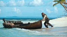 Johnny Depp em Piratas do Caribe: Navegando em Águas Misteriosas (2011)