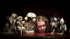 Director Kathleen Greenfield - Fantasy and horror abound, local director's playful genius taps into creative doll art, Victoria, British Columbia, Canada