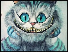 Imagen de cat, smile, and alice in wonderland Cheshire Cat Alice In Wonderland, Alice And Wonderland Quotes, Adventures In Wonderland, Cheshire Cat Drawing, Chesire Cat, Gato Cheshire, Disney Kunst, Disney Art, Cheshire Cat Zeichnung