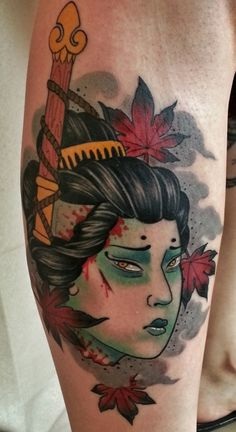 the Decapitated Geisha Tattoo - Pesquisa Google                              …