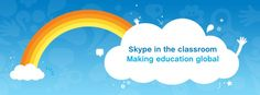 Skype in the classroom - making education global.
