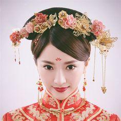 -font-b-Chinese-b-font-Traditional-Classical-Bridal-Jewelry-Sets-Headdress-Handmade-font-b-Hair.jpg (800×800)