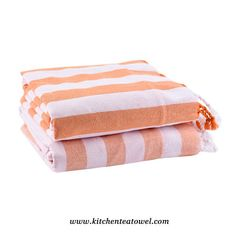 Wholesale 100% Cotton Yarn Dyed Terry Cloth Linen Turkish Towels