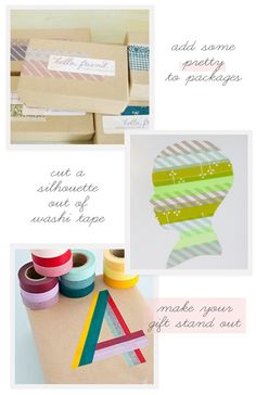 cool and easy wash tape projects
