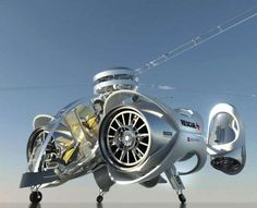 Futuristic Surveillance Helicopters - This Aerial Rescue Chopper is an Advanced Multipurpose Machine (GALLERY)