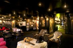 【スライドショー】壁・天井・床が黒に塗られたニューヨークのマンション、ほか - WSJ.com
