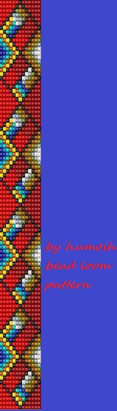 bead loom pattern36 by Humosh on Etsy More