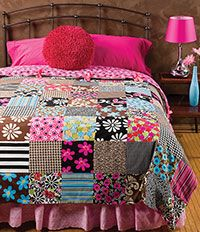 Fat-Quarter Duvet Cover  http://www.anniescatalog.com/sewing_savvy.php?mode=article&article_id=2386