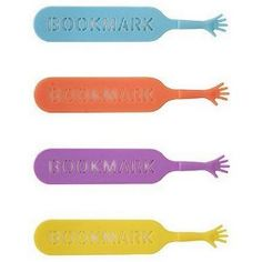 """4 Colorful Bookmarks """"Help Me"""" Book Mark Gift Set for a Book Worm (Office Product)  http://www.99homedecors.com/  B005DJHDW6"""