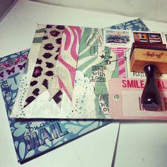 Handmade envelopes #handmade #envelopes #penpals #crafts #snailmail