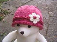 Baby Hat - Knitting Pattern PDF (baby toddler size). $6.00, via Etsy.