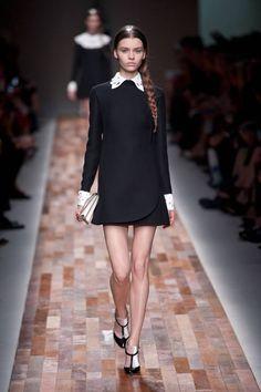 Short & sweet LBD - Valentino Fall 2013 #runway #fashionweek