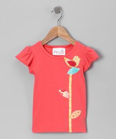 Poppy Addie Tee - Infant, Toddler & Girls  First project with new machine??