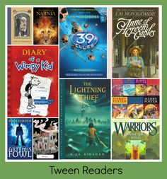 My round up for the BEST CHILDREN'S BOOK SERIES for ages three to 13.