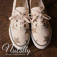 【SALE】 本日6/26(fri)-7/2(thu)まで、nutsllyスニーカーが30%OFFでお買い求め頂けます!! ぜひこの機会にショッピングをお楽しみください! 【nutslly】 FOLKY STARGOLD EWT-SS1 #nutslly #sneaker #shoes #love #cute #giri #fashion #ナッツリー #スニーカー #シューズ