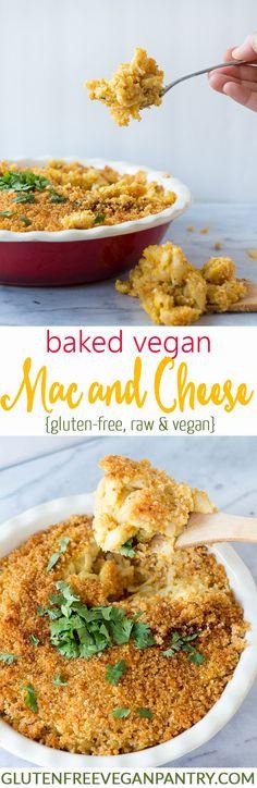 Baked Vegan Mac and Cheese - vegan + gluten-free | glutenfreeveganpantry.com