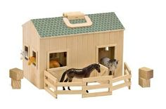 Best Toys for Kids 2014: www.pipedreamtoys.com Fold & Go Stable