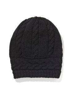 083c4b4a086 Cashmere Cable Hat by Portolano at Gilt