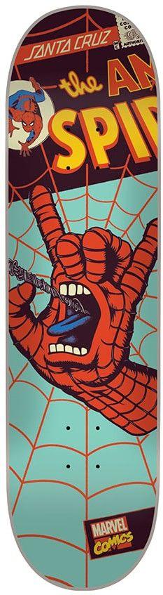 SANTA CRUZ MARVEL SPIDERMAN HAND DECK