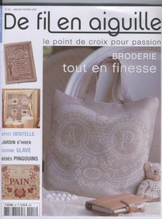 Cross stitch books on pinterest cross stitch stitching and punto de cruz - Salon fil en aiguille ...