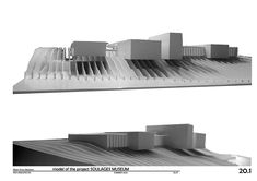 SOULAGES MUSEUM model for RCR arquitectes | Albert Simon Baulenas
