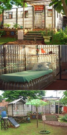 Millions of #bottles Consumes in #world everyday, and even an movement against it, these bottle usually end up in landfills, but a family in Puerto Iguazu, Argentina took notice to it and figured out the way to solve this problem and so he constructed a house by using plastic bottles. Hoping friends and neighbors will see their home as a commitment to caring for the planet, the Santa Cruz family built their #house from plastic bottles, aluminum cans, Tetra Pak boxboard and other recycled…