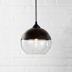 Parallel Series // Sphere // Dark Bronze Mount (Crystal Glass)
