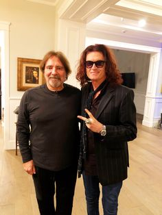 'Twas the night before Christmas & all through the house, not a creature was stirring, and not even Geezer Butler & Glenn Hughes ~ Happy Holidays from Los Angeles everyone ~ may your lives be filled with love & happiness.