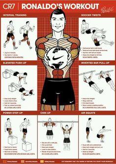 cristiano ronaldo workout, so doing this!