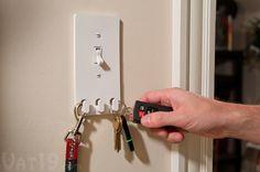 Switch Hooks Storage Switch Plate