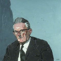 Sir Thomas Parry (1904–1985)  by Kyffin Williams