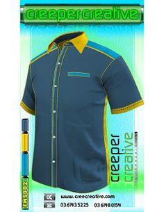 Professional Uniform Catalogue   Corporate Shirt Male Dark Blue FMS001 FMS002 FMS003 FMS004 FMS005 FMS006 FMS007 FMS008 FMS009. FMS010 Short Sleeve Shirt Terq Blue Yellow