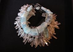 moonstone and crystal bracelet (uncredited photograph)