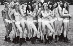 Super Normal Super Models - Supermodels underwear