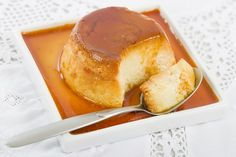 Photo about Pudim de Leite - Brazilian flan made with milk and condensed milk, topped with caramel sauce. Image of light, condensed, culinary - 36915904 Flan Au Caramel, Condensed Milk, Pretzel Bites, Cornbread, French Toast, Pudding, Sweets, Breakfast, Ethnic Recipes