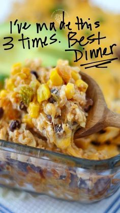 Casserole Dishes, Casserole Recipes, Food Dishes, Main Dishes, Side Dishes, Weeknight Meals, Easy Meals, Mexican Food Recipes, Dinner Recipes