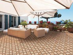 🌞 Terrace on the shores of the Mediterranean made with Arrecife flooring model 🏖️ #ittceramic #floortiles #tileslover #tilesaddiction @innovatingtrendingtiles Tiles, Mexico, Exterior, Flooring, Terrace Ideas, Outdoor Decor, Home Decor, Model, Online Shopping