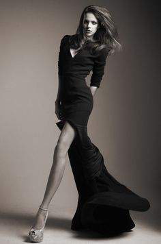 Gorgeous high fashion dress, love the movement. model, studio, photography.*** portfolio