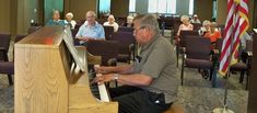 Juniper Village at Bucks County enjoyed an afternoon with a local pianist for 'A salute to Chopin and the Flag with Jim Correnti'. Bucks County, Flag, Community, Science, Flags