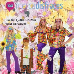 Solo queda un mes para Carnaval, encuentra tu disfraz original y económico en Mercadisfraces.  Envíos en 24 horas.