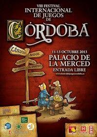Blog Las Cosillas de Carmen: Festival Internacional de juegos de mesa Córdoba
