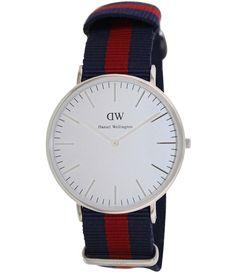 Daniel Wellington Male Oxford Watch  0201DW Silver Analog             Sale price. $129.95