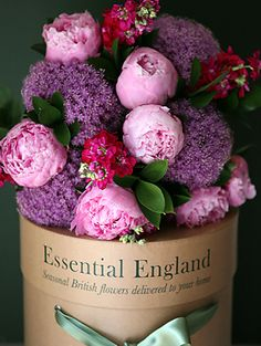 English flowers country style
